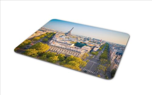 Paris France Mouse Mat Pad Eiffel Tower French EU Champ de Mars Computer #8934