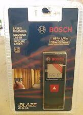 New Sealed Bosch Glm 20 Compact Blaze 65 Laser Distance Measure