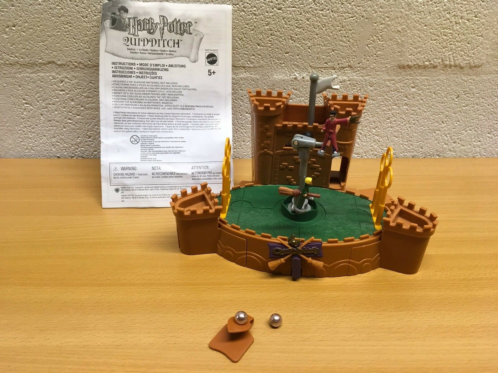 HARRY POTTER MATTEL PLAYSET BUNDLE FIGURES QUIDDITCH QUIDDITCH QUIDDITCH WHOMPING WILLOW YOU CHOOSE 6ec244