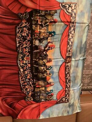 Dolce & Gabbana Foulard Sciarpa Scarf Scarve Stole Sale Xxxl 135 X 100 Cm-mostra Il Titolo Originale Ultimi Design Diversificati