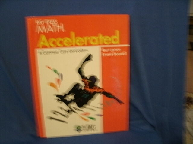 Big Ideas Math (Red) Accelerated Pupil Edition (2012