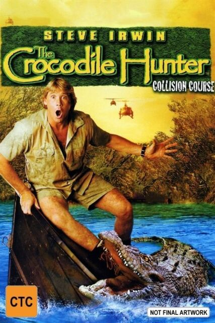 The Crocodile Hunter - Collision Course (DVD, 2004) Region 4 Used Like NEW