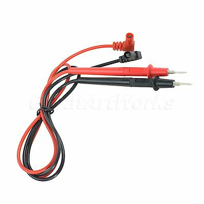 Pair of Mutimeter Probe Test Leads Testing Wire Cable New
