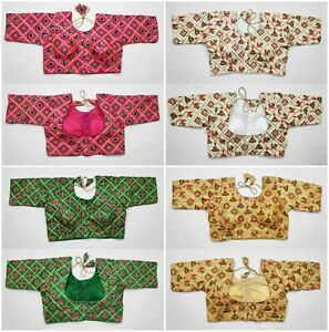 Sari-Saree-Blouse-New-Readymade-Heavy-Hand-work-Designer-Lehengha-Choli-blouse