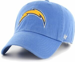 LOS-ANGELES-CHARGERS-NFL-POWDER-BLUE-RAZ-DAD-STRAPBACK-CAP-HAT-CLEAN-UP-NEW-039-47