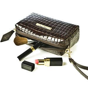 Small-Crocodile-Skin-Clutch-Bag-Designer-Leather-Makeup-Purse-Ladies-Vintage