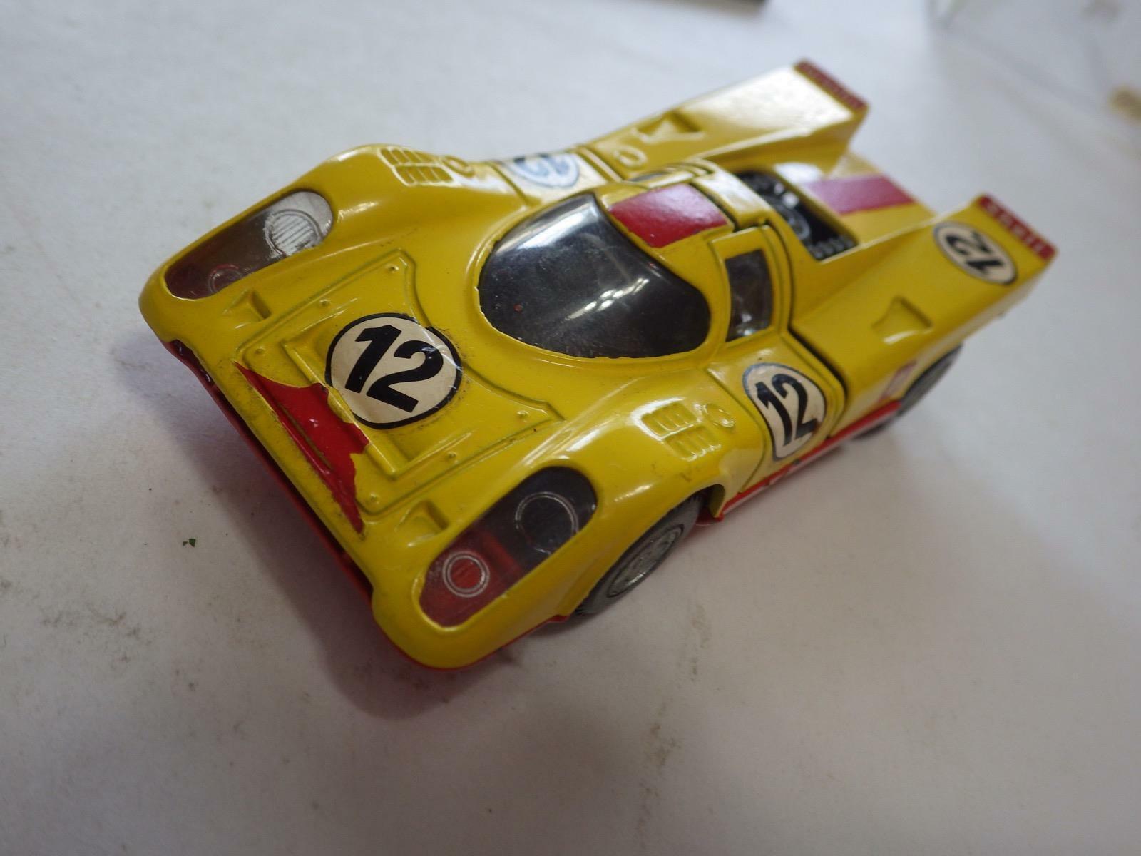 Mercury Autobox () Yellow Porsche 917K (Shell) 1970 Diecast Diecast 1 43 NIB