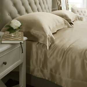 Jasmine-Silk-3PCs-100-Charmeuse-Silk-Duvet-Cover-Set-Taupe-DOUBLE