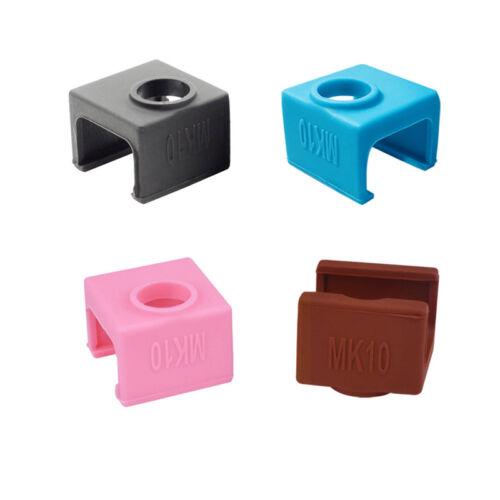 MK10 Silicone Sock for CTC Flashforge Wanhao i3 QIDI TECH MK10 Heater Block Case