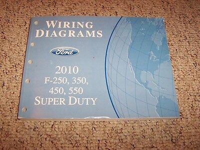 2010 Ford Super Duty F450 Electrical Wiring Diagram Manual ...