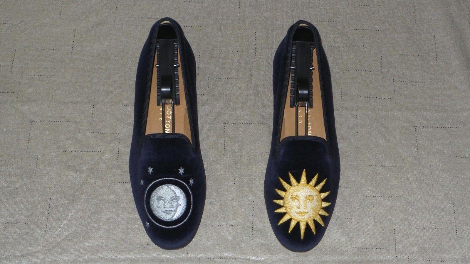 Tan lindo  Mujer  450 Stubbs and wootton Velvet  nitenday  Zapatillas Mocasines Zapato