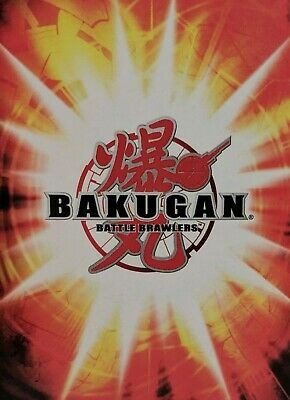 6 cards 3 Random Bakugan Battle Brawlers Toy Action Figure Sphere Vintage Lot