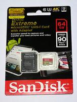 Sandisk 64g Micro Extreme 4k Video Sd Card For Gopro Hero5 Hero 5 Black Session