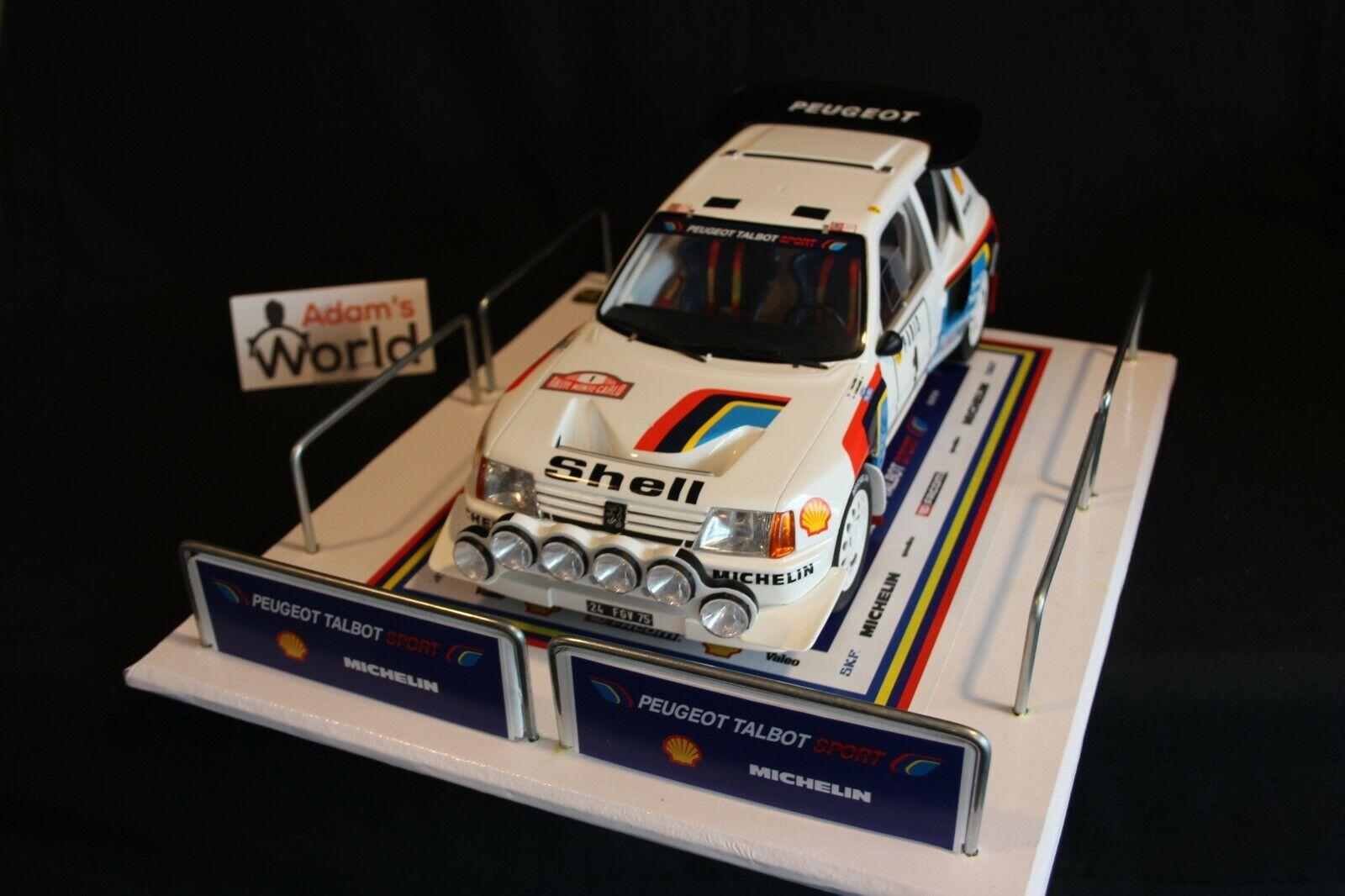 grandes precios de descuento QSP Diorama 1 12     1 18 Peugeot Talbot Sport Rally Team Service  autorización