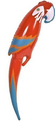 Inflatable Blow up Parrot Fancy Dress Party Hawaiian Pirate 48cm Accessory