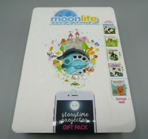 Moonlite Gift Pack Storybook Projector for Smartphones with 5 Stories Spin Master 6042024