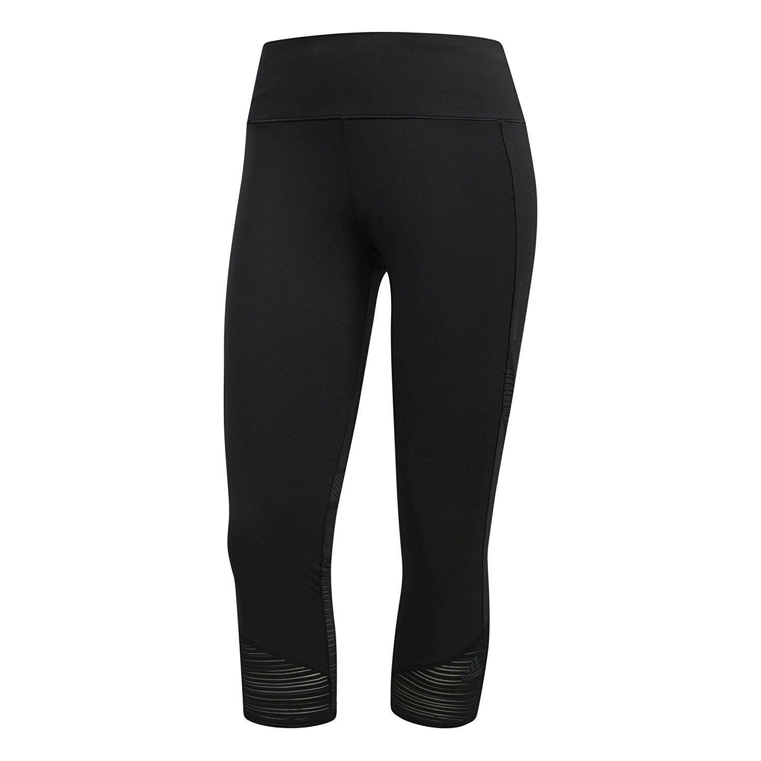 Adidas Women's How We Do 3 4 Lightweight Running Leggings