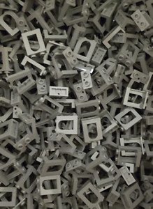 Window 1x2x2 50 x LEGO® Fenster 90195 in Neu Dunkelgrau Dark Bluish Gray