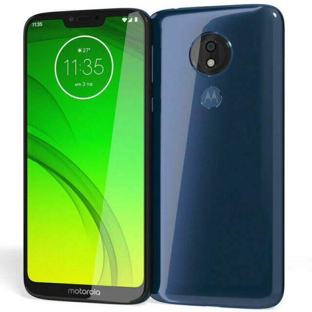 Motorola Moto G7 Power 32gb Marine Blue Metro Pcs For Sale Online Ebay