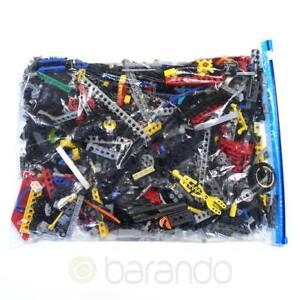 1-kg-LEGO-Technik-Technic-ca-900-Teile-Pins-Lochstangen-Kilo-Kiloware
