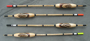 Presents for fishermen.  Handmade fishing float. Inlay feather. 6BB/2.4g (Wg_F)