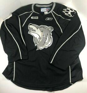 timeless design 5dea2 11271 Details about Sudbury Wolves Reebok Alternate Jersey Size 56 XXL 2XL Hockey  OHL NHL 2010-2019