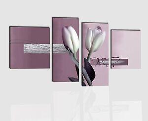 Quadri moderni componibili dipinti a mano su tela con for Quadri componibili moderni