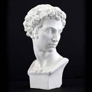 Plaster Cast Mini Head Of David