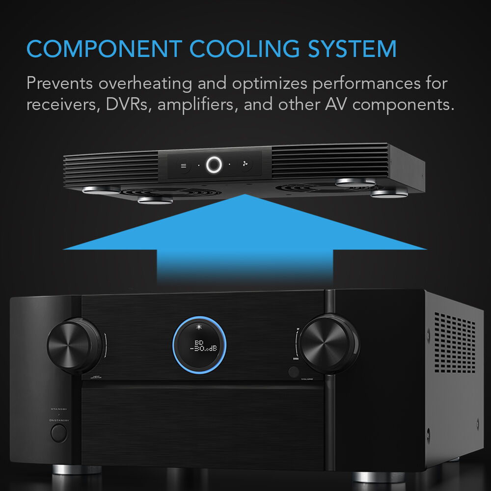 AC Infinity AIRCOM S6 Quiet Cooling Blower Fan System 12
