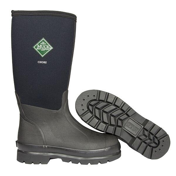 Muck Boots IMPERMEABILE Chore alte Stivali Wellington IMPERMEABILE Boots UOMO E Donna f0b9bc
