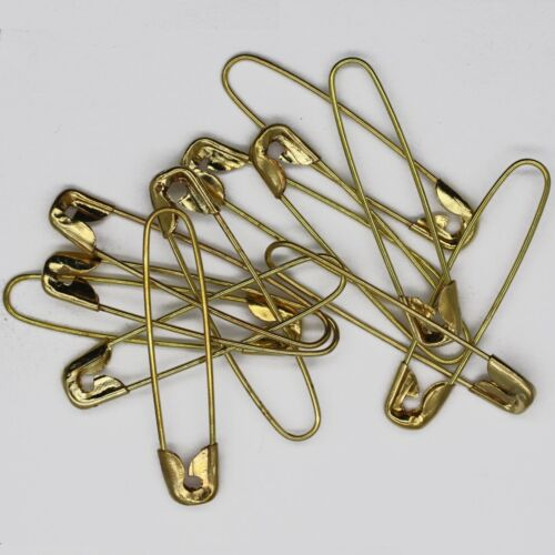 Style Français Beading PINS NO bobine épingles de sûreté Pack de 100 goldtone