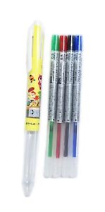 Uni Style Fit Disney Belle Beauty and the Beast 3Way Pen 0.5mm Designed in Japan