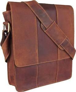 UNICORN-Sacchetto-Cuoio-Genuino-iPad-Tablet-accessori-Borsa-Tan-Colore-5G