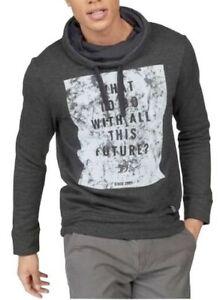 Details zu Tom Tailor Denim TTD Sweatshirt Grau Herren Pullover Baumwolle Gr.S,M,L,XL NEU