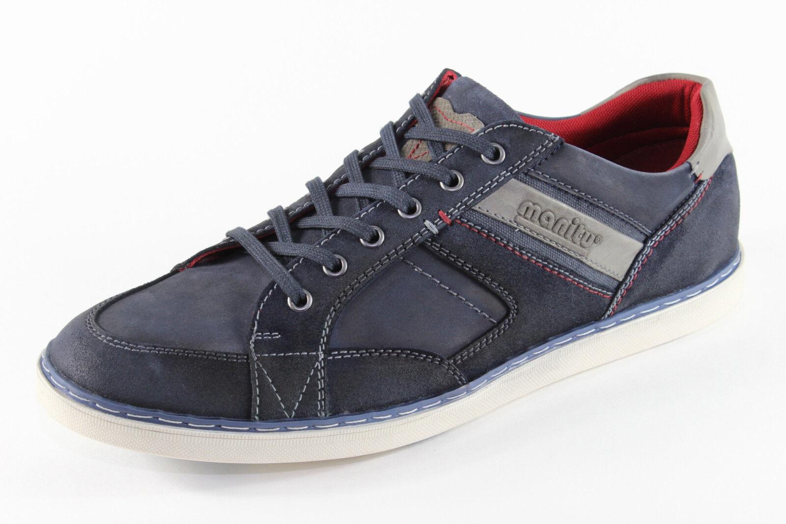Manitu 641376, schicke Sneaker, Herrenschuhe *Übergröße*
