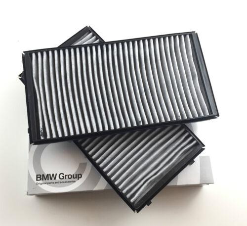 2 x filtro de carbón activado set//frase original bmw 64 11 9 272 643 7er e65 e66 e67