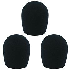 3 Bonnettes Anti Vent Pour Micro Diamétre 35 mm / SM 58