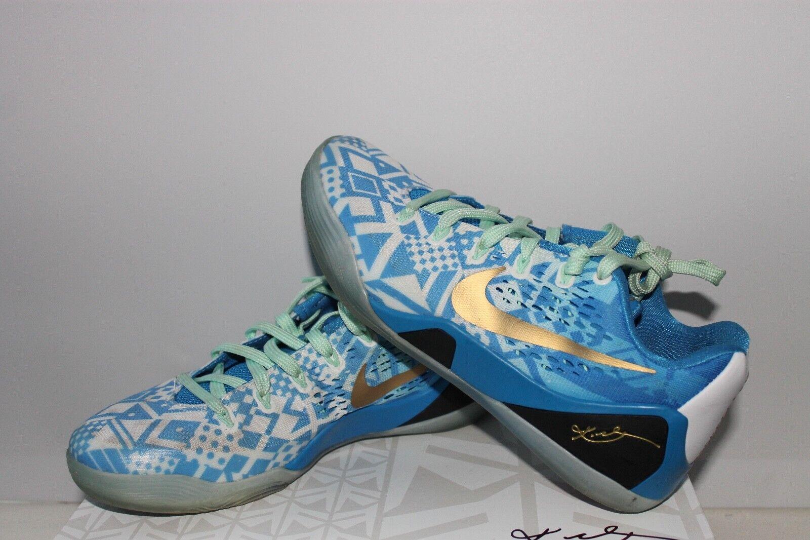 Nike Kobe IX EM Hyper Cobalt 646701-414 Size 7.5