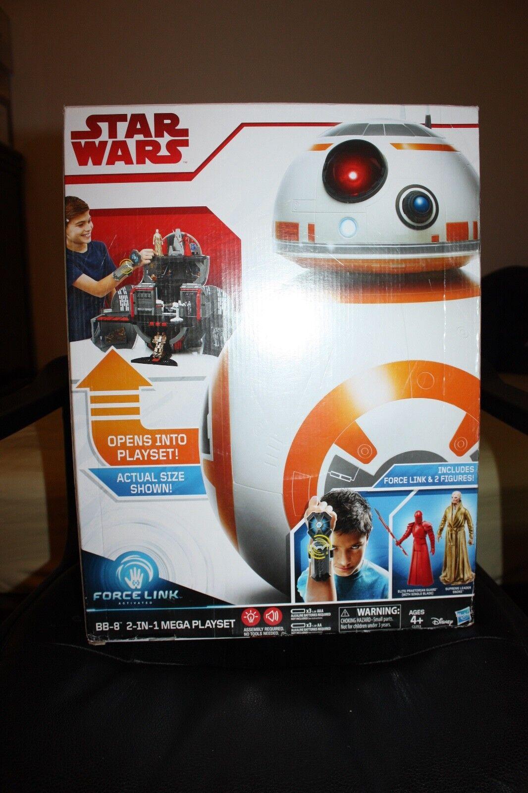 Star wars force link bb-8 2 - in - 1 - mega - playset einschließlich kraft link