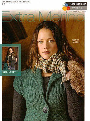 Knitting pattern BOOK-Schachenmayr Extra Merino knitting pattern s8229 # 14d166