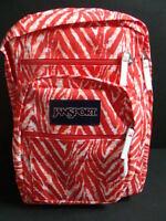 Jansport Girls Big Student Backpack Zebra Book Bag Padded Pack School