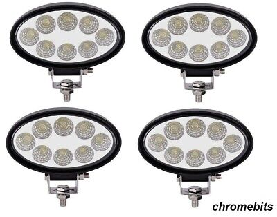 6 x 36W 12V 24V LED WORK SPOT BEAM LAMPS NEW HOLLAND MASSEY FERGUSON JCB TRACTOR