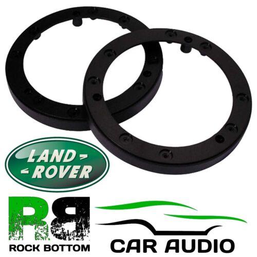"""Land Rover Defender 90 110 10cm 4/"""" soportes de altavoz de coche del tablero de instrumentos Anillos Separadores"""