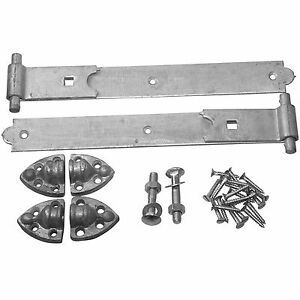 Gate Hinges Heavy Reversible 12 36 Inch Black And
