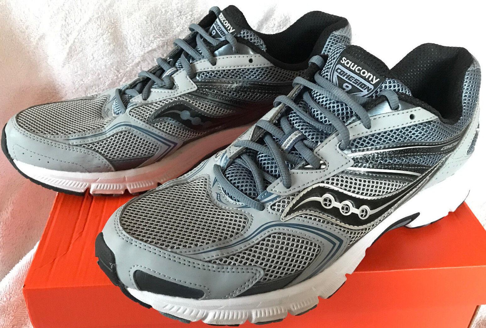Saucony Grid Cohesion 9 Argent S25262-5 neutre Marathon Chaussures De Course Homme 13