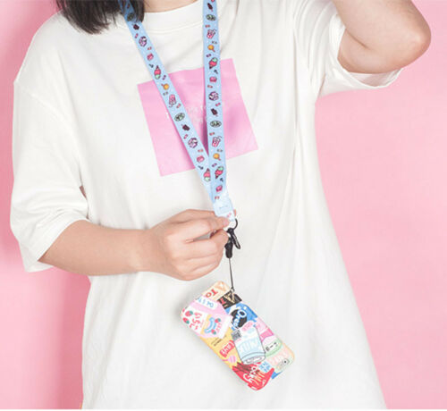 TV Game Anime Series Neck Strap Lanyard Cell Phone Rope KeyChain ID Card Cosplay