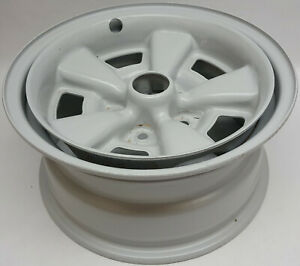 1 Original factory 1971-74 Camaro Chevelle 5 spoke Rally 15 X 7 in steel wheel