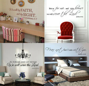 Bible-Verse-Wall-Decals-Christian-Quote-Vinyl-Wall-Art-Stickers-Scripture-Decor
