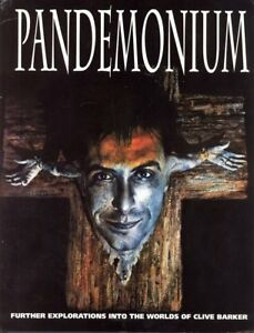 Pandemonium-The-World-of-Clive-Barker-Hardcover-DJ-HTF-OOP-New-VF-NM