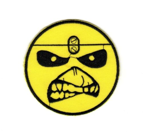 Iron Maiden Patch Heavy Metal Band Smile